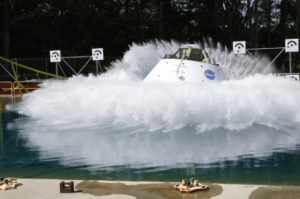 Orion Water Test Drop 08/24/16 NASA Langley Research Center
